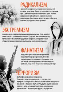 Буклет экстремизм